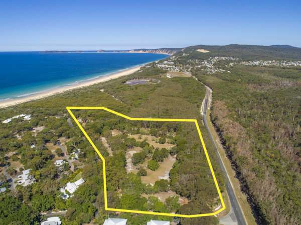 7.88 acres of Prime Beachside Land